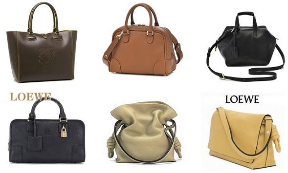 ロエベの新作バッグ一覧