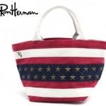ロンハーマンのスタッズトート USA  星条旗モデルの紹介