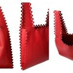 ラドローのレザートート ジグザグ ショッピングバッグの紹介