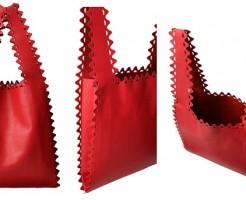 ラドローのジグザグ ショッピングバッグ